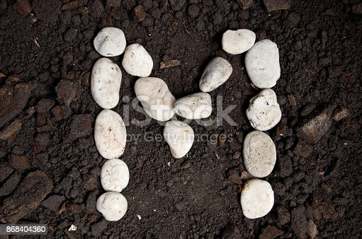 868408882istockphoto English alphabet (M - alphabet) 868404360