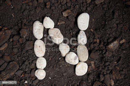 868408882istockphoto English alphabet (N - alphabet) 868409270