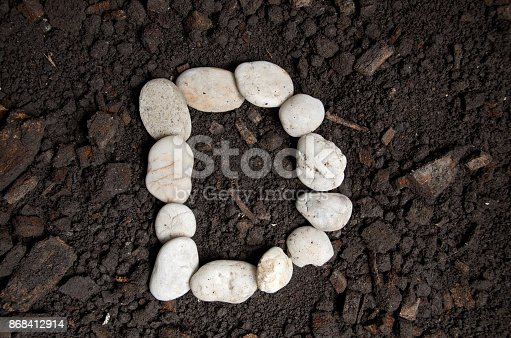 868408882istockphoto English alphabet (D - alphabet) 868412914