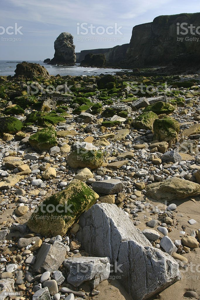 English beach view royalty-free stock photo