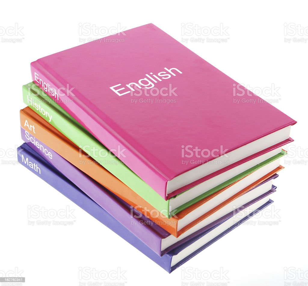 English Book royalty-free stock photo
