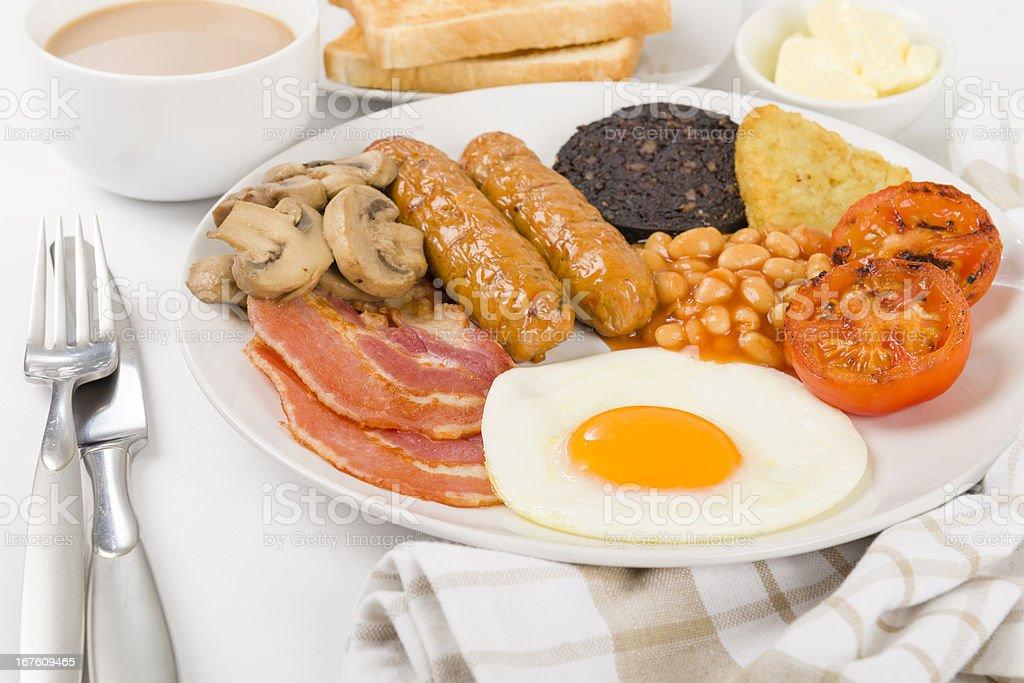 English Breakfast royalty-free stock photo