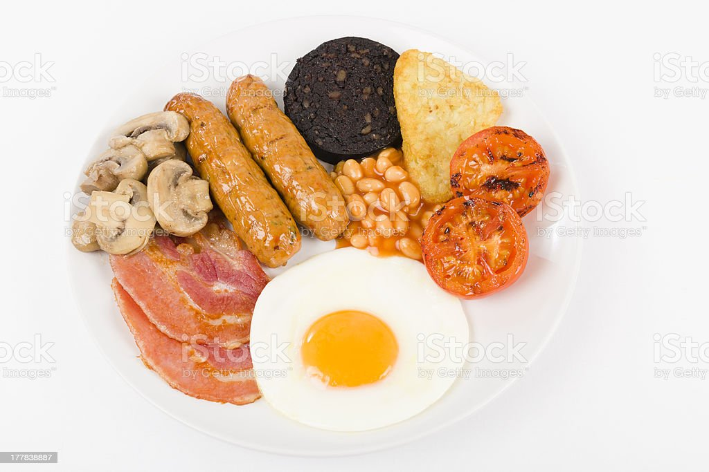 English Breakfast royalty-free stock photo