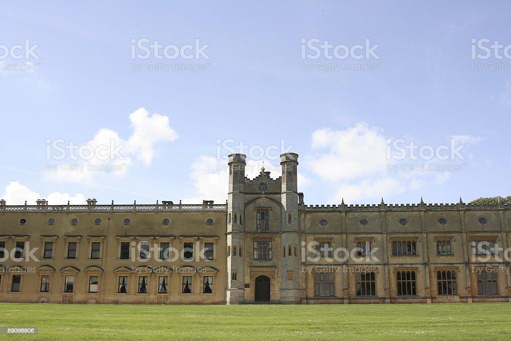 English castle royalty-free stock photo