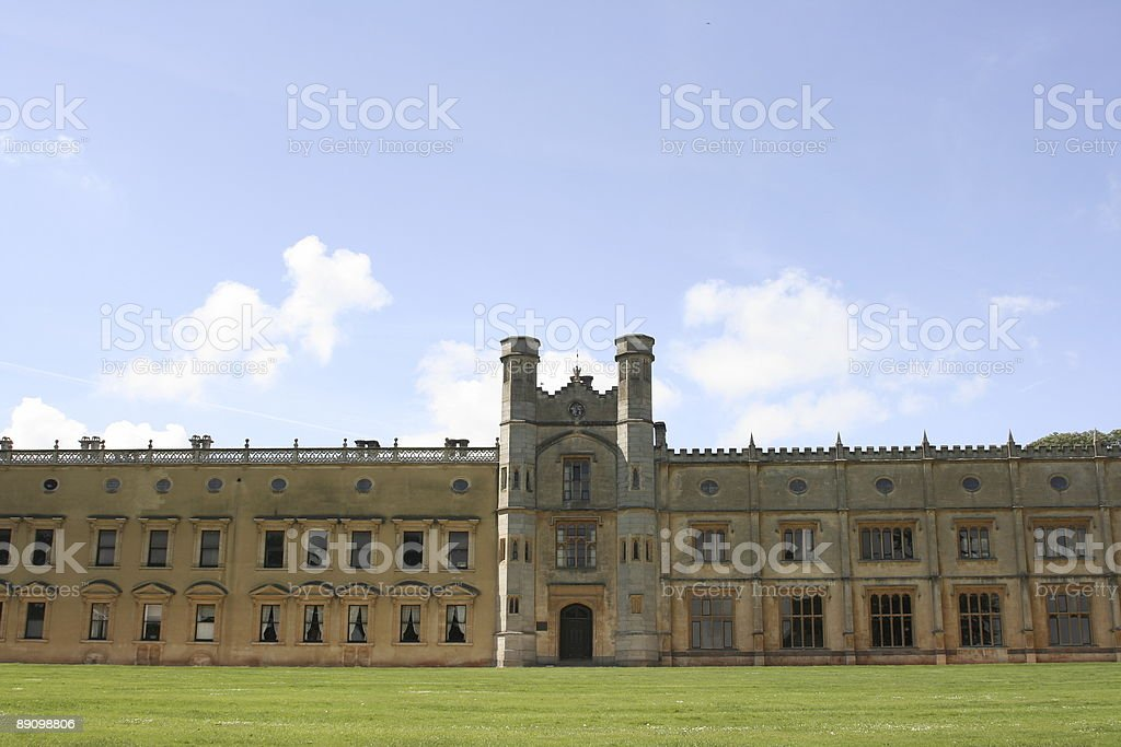 English castle stock photo