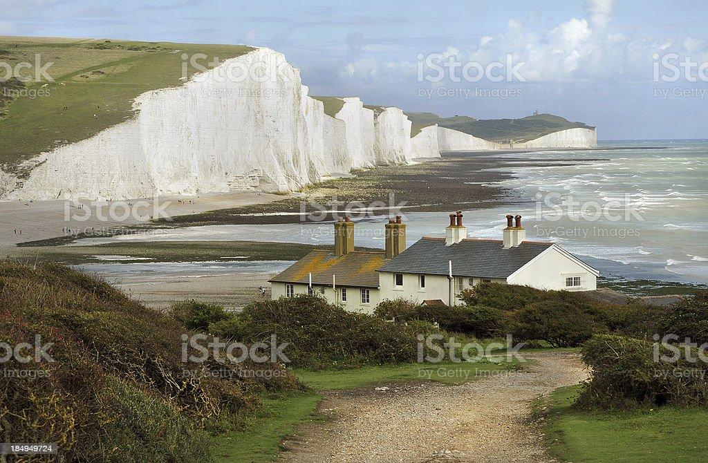 English Coast stock photo