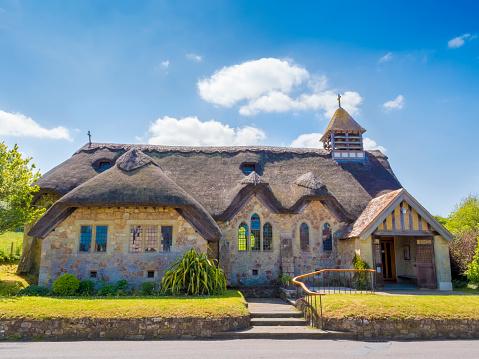 English cottage church