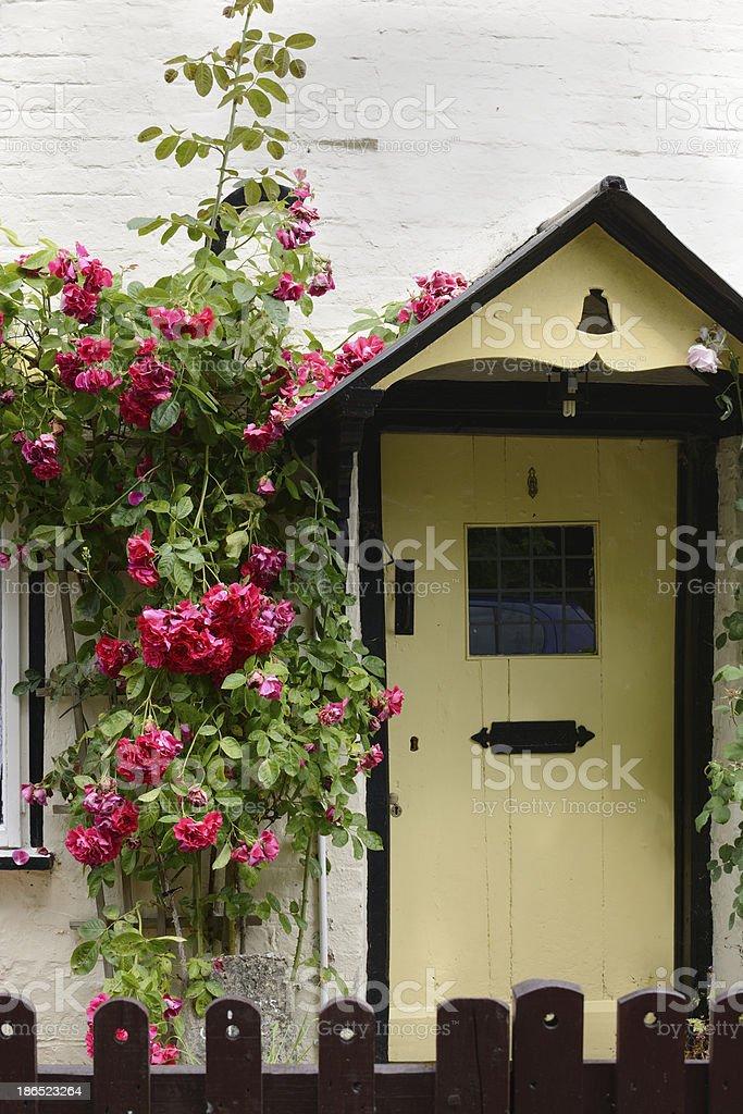 English country cottage. Avebury. England royalty-free stock photo