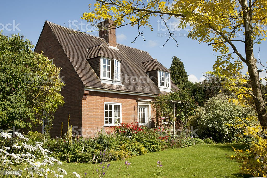 Cottage di campagna inglese fotografie stock e altre for Piani di campagna inglese