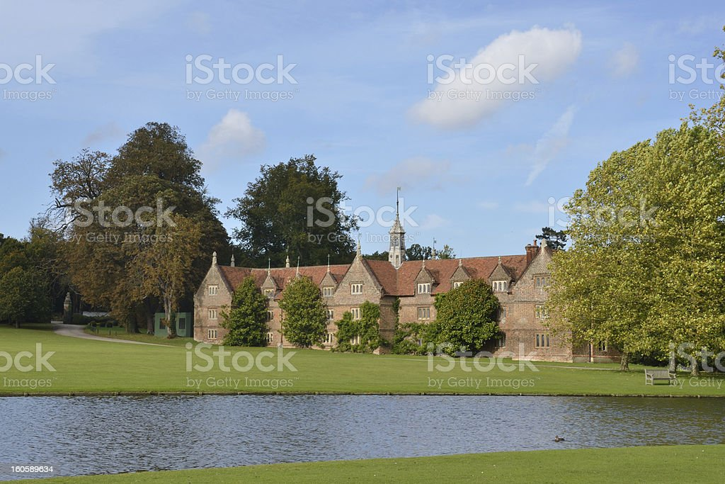 english country house royalty-free stock photo
