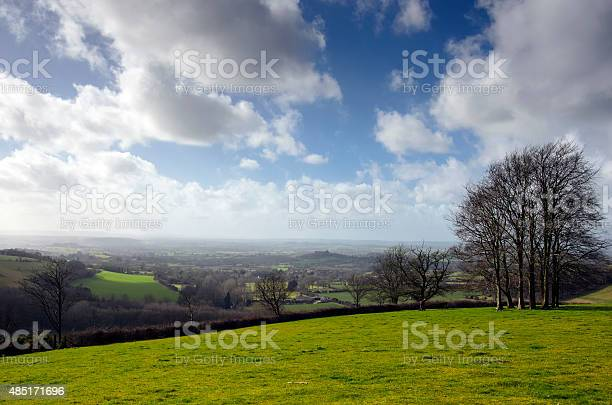 English Countryside In March Stock Photo - Download Image Now