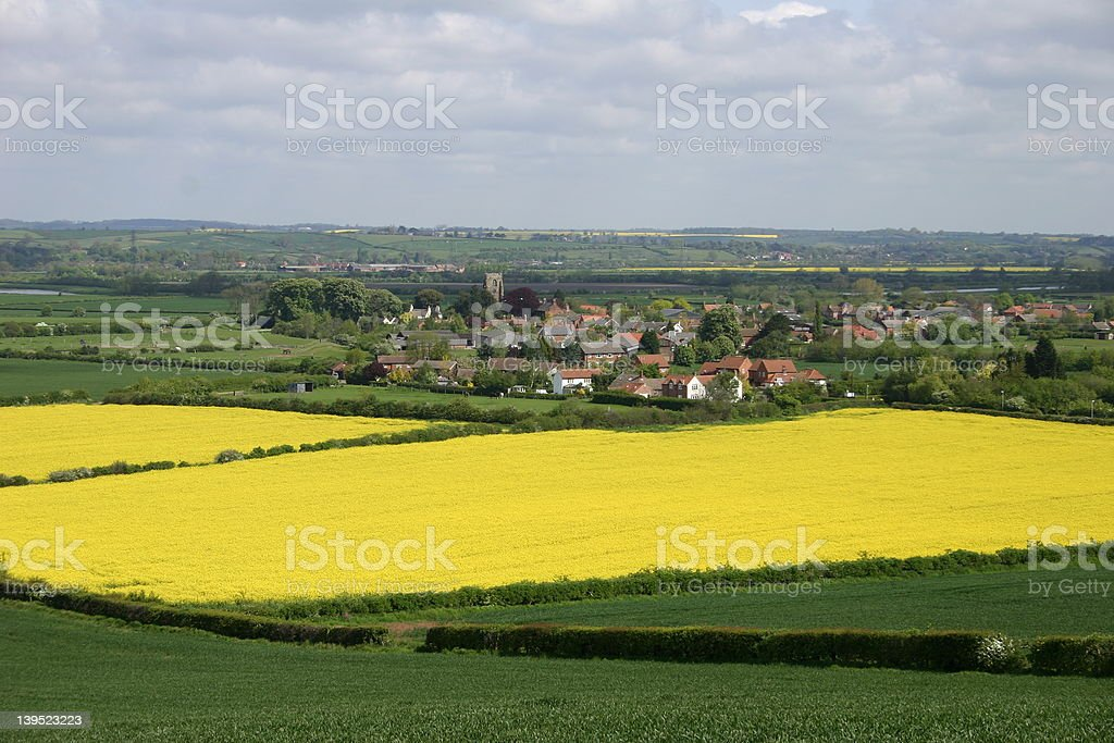 English Countryside royalty-free stock photo