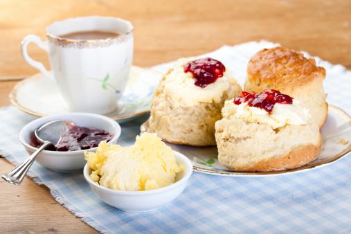 English Cream Tea-foton och fler bilder på Baka