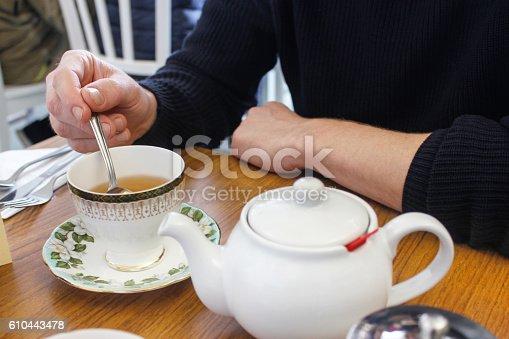 English culture of drinking tea
