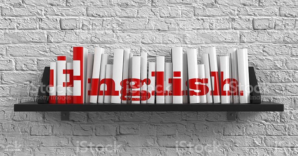 English. Education Concept. stock photo