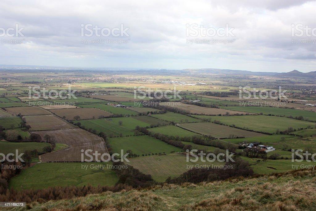 english farmland royalty-free stock photo