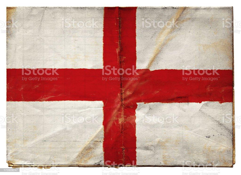 English flag XXL royalty-free stock photo