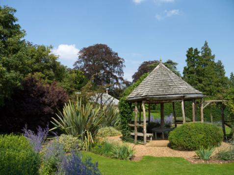English Garden And Pergola Stock Photo Download Image Now Istock
