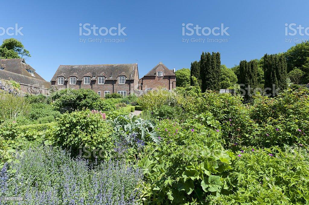 English Garden stock photo