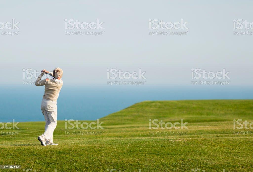 English Golfer stock photo