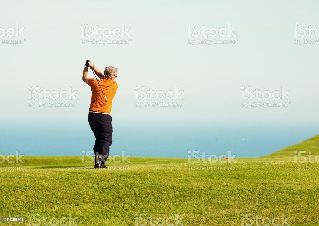 English Golfer royalty-free stock photo