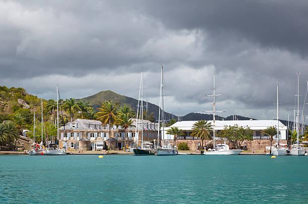English Harbor, Antigua stock photo