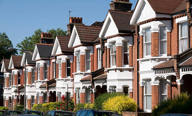 English Homes stock photo