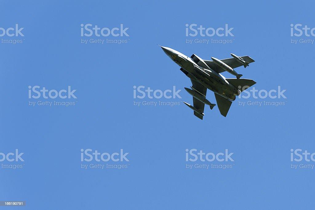 English Lake District: low-flying Tornado GR4 royalty-free stock photo