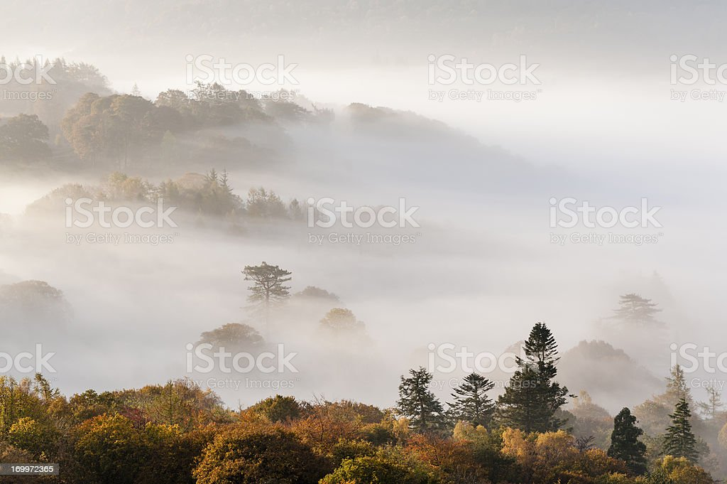 English Lake District: October dawn royalty-free stock photo