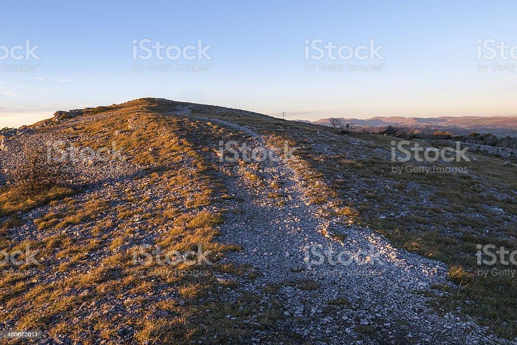 English Lake District: Whitbarrow Nature Reserve royalty-free stock photo