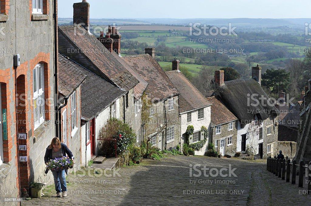 English lane stock photo
