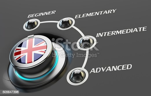 istock English language courses, learning and education concept 505647398