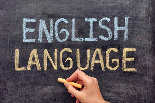 Idioma inglés - foto de stock