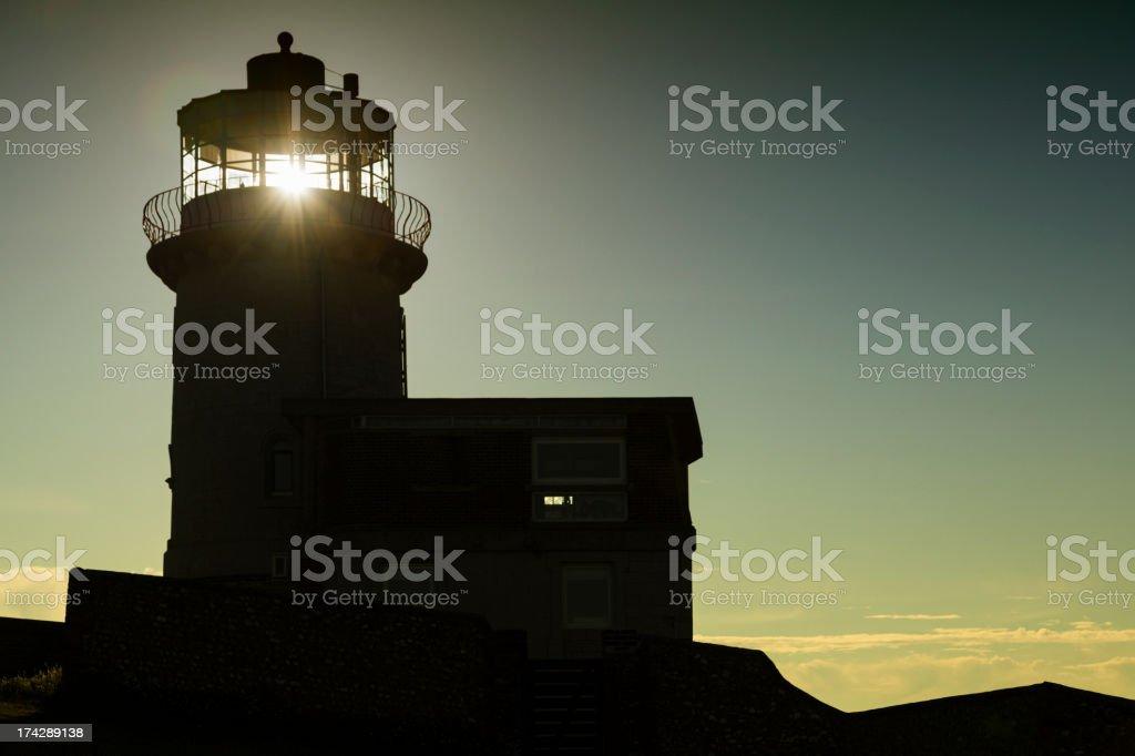 English Lighthouse stock photo