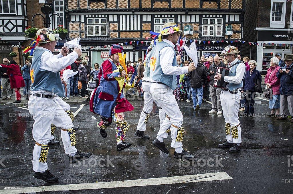 English Morris Dance royalty-free stock photo