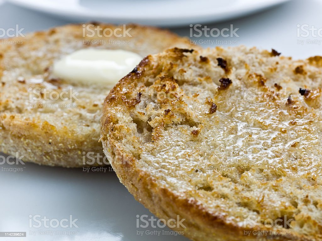 English Muffin royalty-free stock photo
