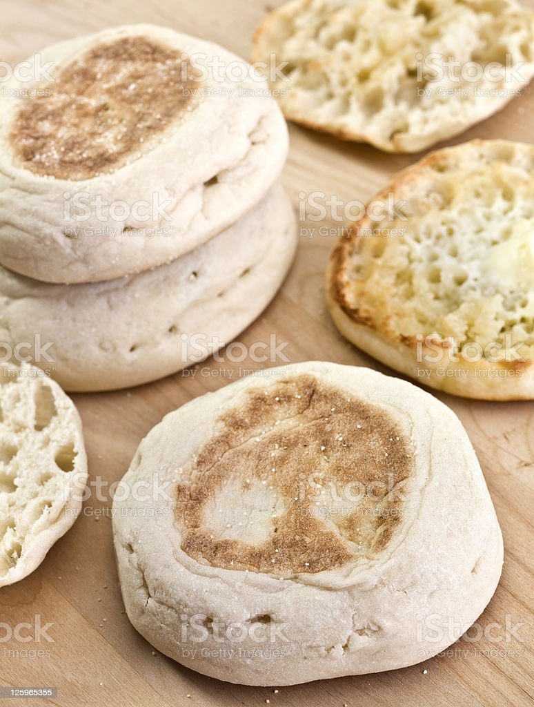 English Muffins royalty-free stock photo