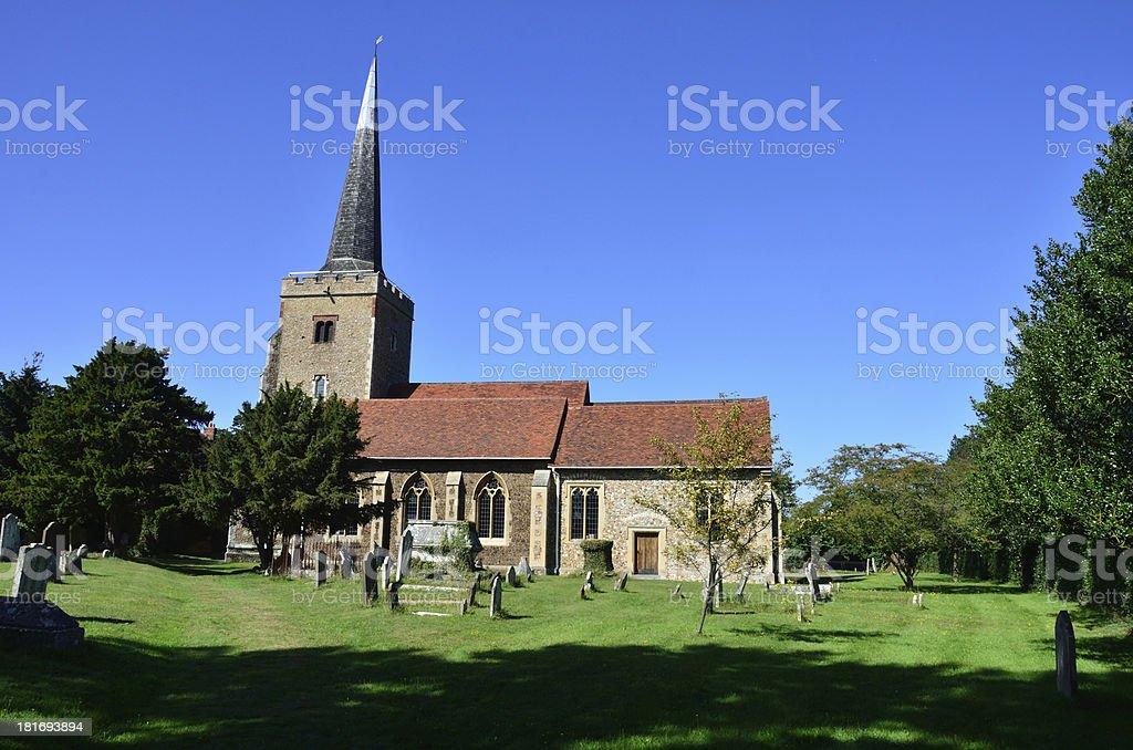 English Parish Church royalty-free stock photo