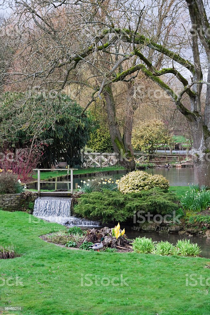 영어 공원 royalty-free 스톡 사진