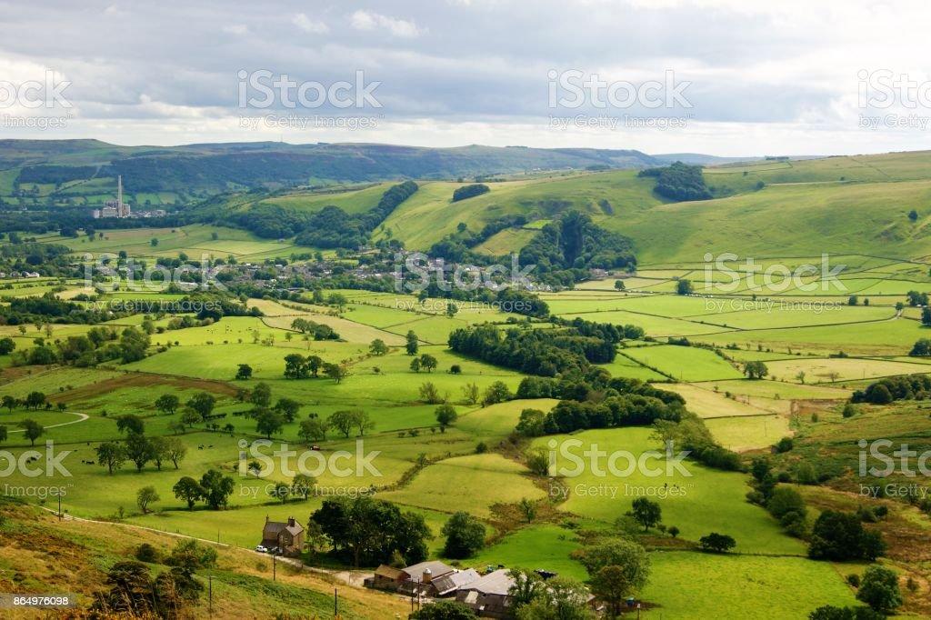 Englisch Peak District. – Foto