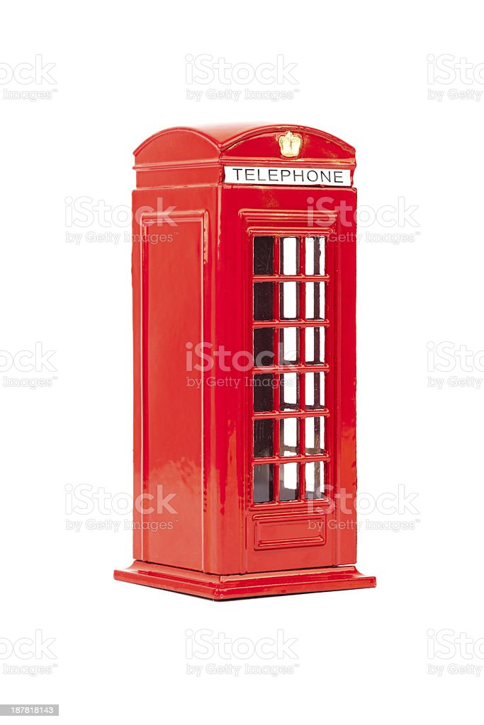 English Phone Booth stock photo