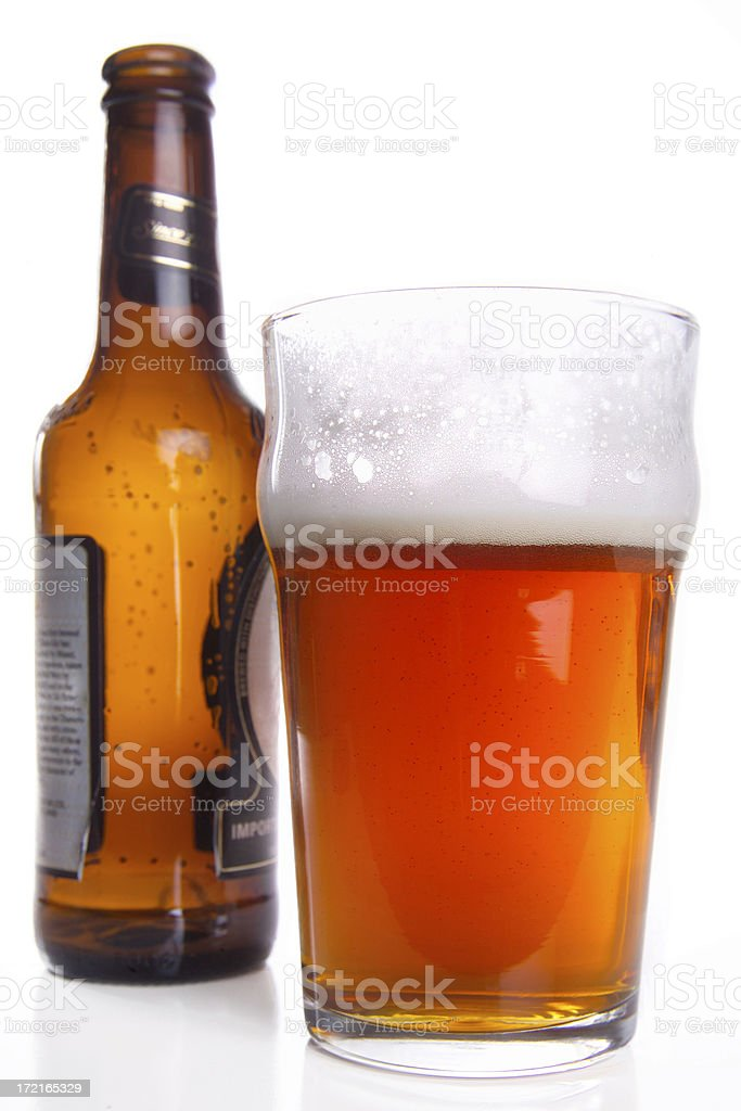 English pint royalty-free stock photo