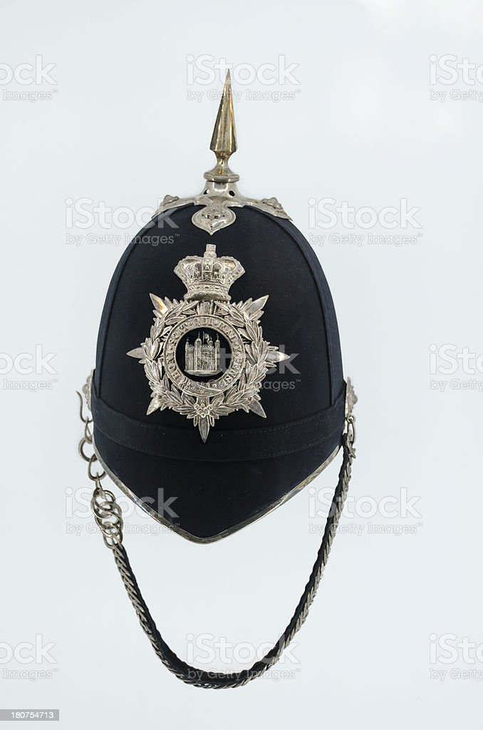 English Police Hat stock photo