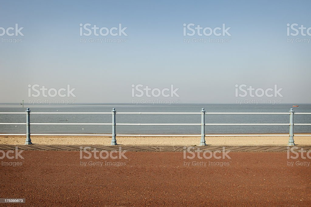 English Promenade stock photo