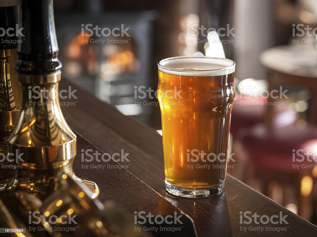 English pub stock photo