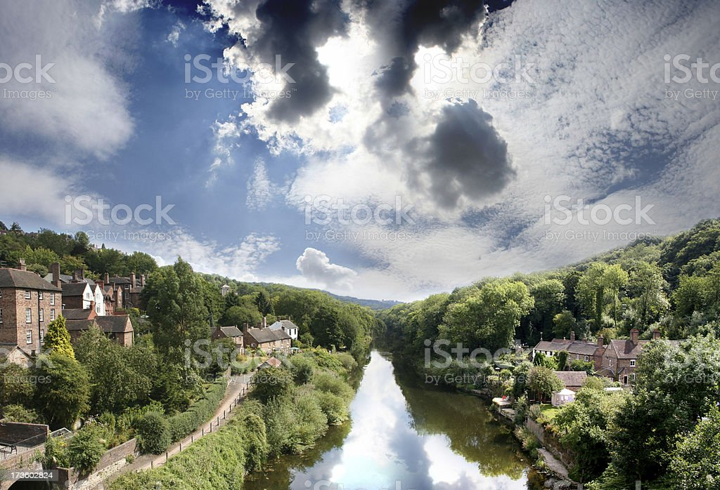 English River 01 stock photo