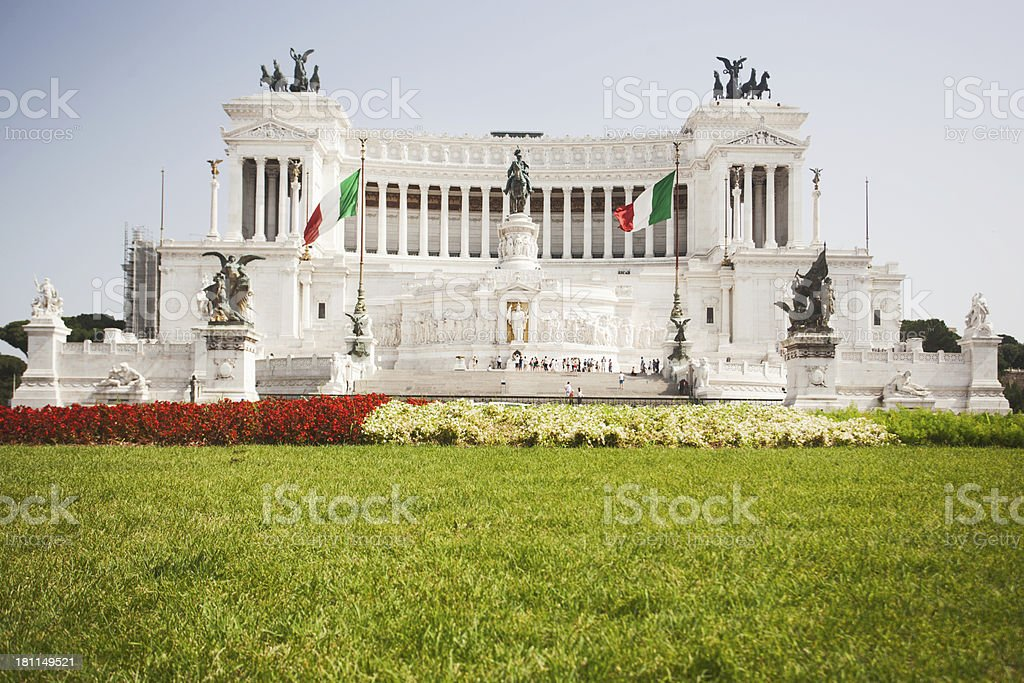 Zuppa inglese monument at Vittorio Emanuele II royalty-free stock photo