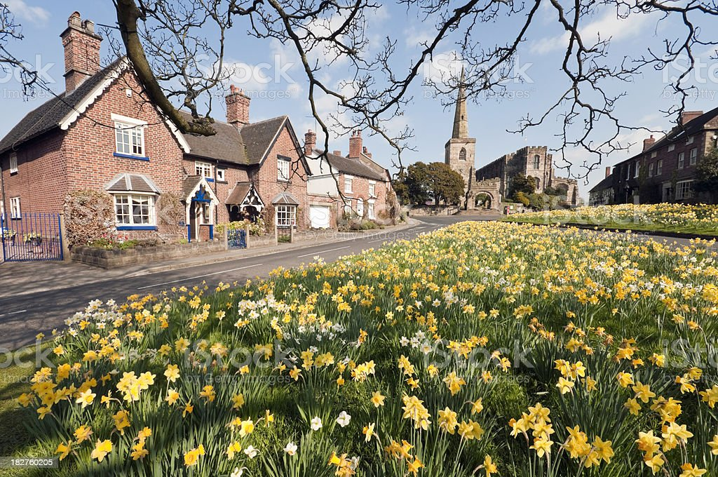 English Spring Day stock photo