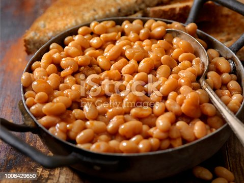 English Style Beans and Toast