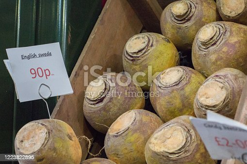 English Swede in Borough Market, London